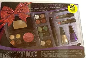 625a7de93d67 Amazon.com : Color Workshop - In Case of Beauty - Cosmetic Kit - 24 ...