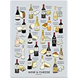 "Wine Folly Wine Cheese Pairing Poster Print (18"" x 24"")"