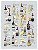 wine and cheese pack - Wine Folly Wine Cheese Pairing Poster Print (18