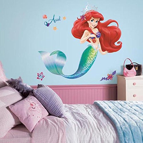 RoomMates The Little Mermaid Peel Ariel Giant Wall Decal