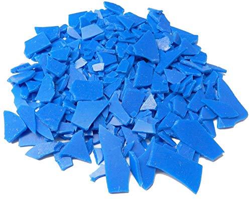 FREEMAN INJECTION WAX FLEXIBLE BLUE FLAKES WAX JEWELRY LOST WAX CASTING 1 Lb BAG (LZ 1.2 FRE) NOVELTOOLS (Molding Injector)