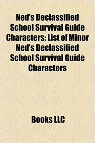 Amazon In Buy Ned S Declassified School Survival Guide Characters