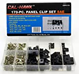 Auto Car Panel Clip & Screw Kit for Dash Door Panel Interior SAE