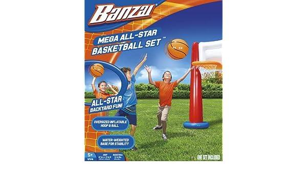Banzai Mega All-Star kit de Basket-Ball: Amazon.es: Deportes y ...