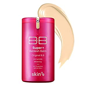 SKIN79 Super Plus Beblesh Balm Triple Function Pink BB (SPF30/PA++) 40g - UV Block, Anti Wrinkle, Whitening