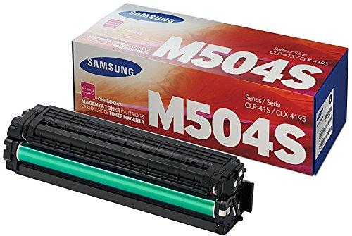 (Samsung CLTM504S CLT-M504S Toner Cartridge Magenta)