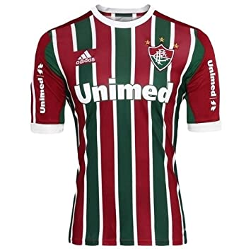 0f350ce370 Adidas Fluminense Authentic Home Jersey 2013 - no. 10 - L  Amazon.co.uk   Sports   Outdoors