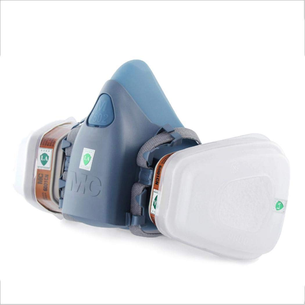 Kiloid Anti-Dust Respirator Mask Industrial Chemical Gas Safety Guard Filter Tool Safety Face Shields
