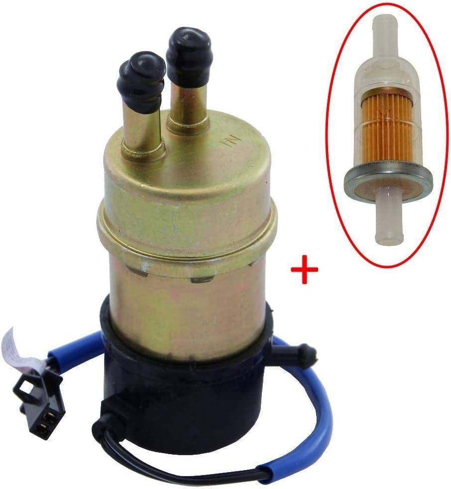Kraftstoffpumpe Benzinpumpe Inkl Benzin Filter Für Honda Cbr Nt Ntv Vfr Vt Xl Xrv Kawasaki Ninja Zx600 Zx 6r Zx 6 Zx 7 Zx 7r Zx 9 Zx 11 Zzr600 Suzuki Rf Vl Vs Vz Yamaha Fj Fzr