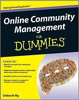 Online Community Management For Dummies: Amazon.es: Deborah Ng: Libros en idiomas extranjeros