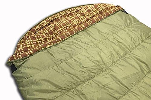 20℉ Premium Lightweight Mummy Sleeping Bag Wolftraders