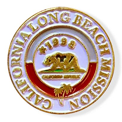 LDS California Long Beach Mission Commemorative Lapel ()