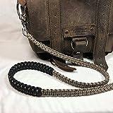 Desert Camo Paracord Cross Shoulder Strap, Handbag, Satchel Strap, Duffel Bag