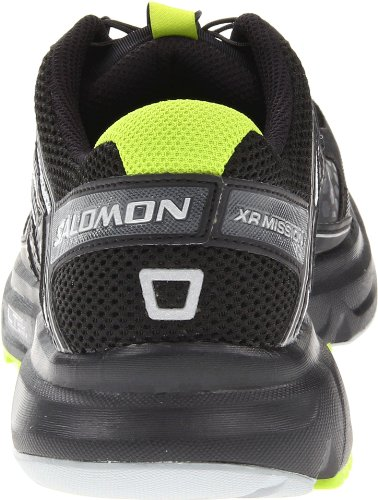 SALOMON XR Mission - Chaussures de course de Piste pour Homme, Noir/Jaune, 41 1/3