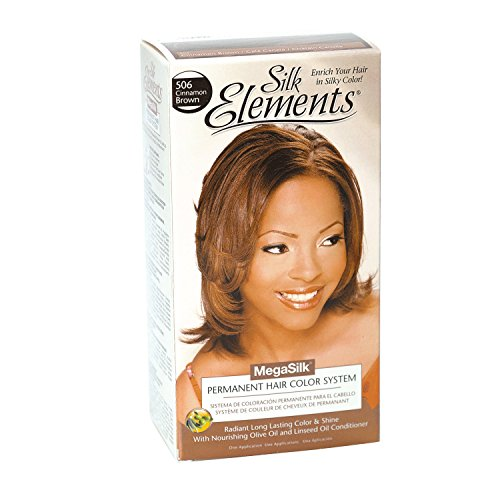 Cinnamon Silk (Silk Elements Cinnamon Brown Permanent Hair Color Cinnamon Brown)