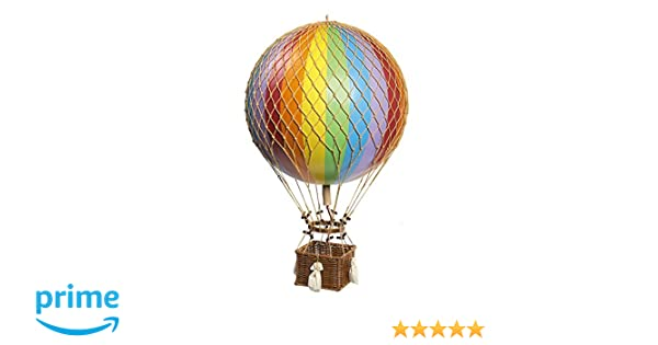 Authentic Models AP168E Jules Verne Balloon, Rainbow