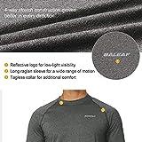 BALEAF Men's Long Sleeve Running Shirts Athletic