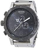 Nixon A083-1762 Mens The 51-30 Chrono Silver Gunmetal Watch