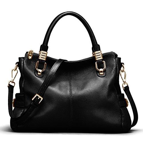 Luxury Black Korean Clutch Messenger Tote Womenu0026#39;s Satchel PU Leather Shoulder Bag New | EBay