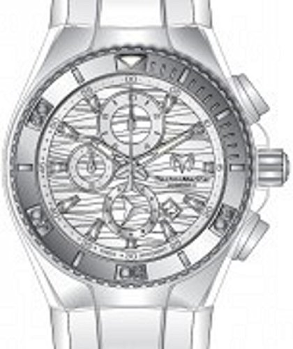 Technomarine Men's TM-115053 Cruise Original Quartz Chronograph Antique Silver Dial ()