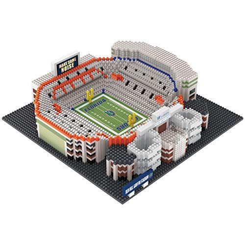 FOCO NCAA Florida Gators 3D Brxlz Stadium Building Block Set3D Brxlz Stadium Building Block Set, Team Color, One - Gators Stadium Florida