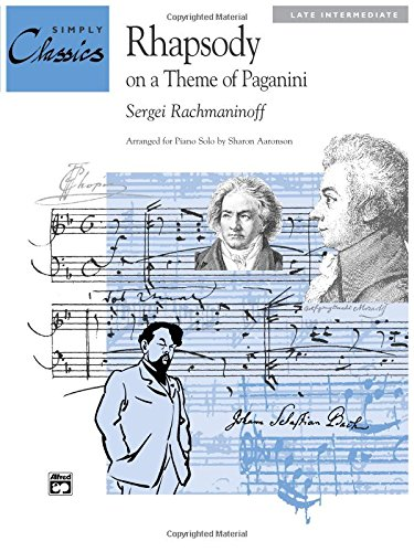 Rhapsody on a Theme of Paganini Sheet (Simply Classics Solos) (Tapa Blanda)