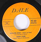 RANDY STARR 45 RPM HEAVEN HIGH / AFTER SCHOOL