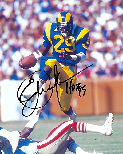- Eric Dickerson, LA Rams, Los Angeles Rams, Signed, Autographed, 8X10 Photo, a Coa with the Proof Photo of Eric Signing Will Be Included