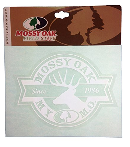 Mossy Oak Field Staff Window Decal Sticker 4 X 6 Mossy Oak Field Staff Deer Window Decal (Plus Free Bonus Decal)