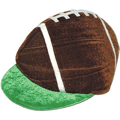 Plush Football Hat Pkg/6