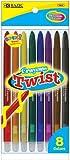Bazic 8 Color Propelling Crayon 144 pcs sku# 354877MA