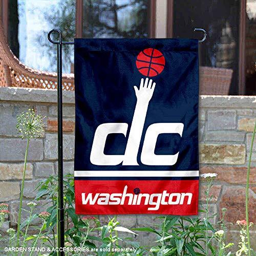 (Washington Wizards Double Sided Garden Flag)