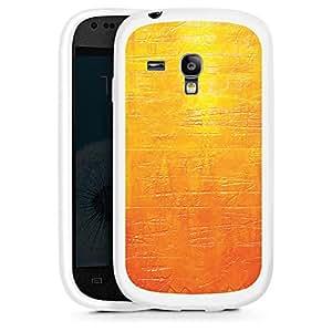 Silicona Carcasa blanco Funda para Samsung Galaxy S3 Mini - Scratches