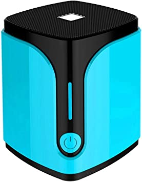 YUMII Subwoofer de Tarjeta de Altavoz Bluetooth inalámbrico Cuadrado-Blue: Amazon.es: Electrónica