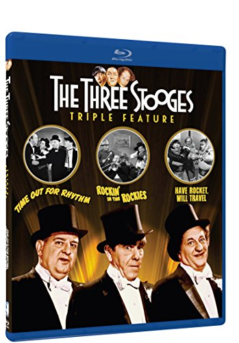 Three Stooges Collection - Volume One - Triple Feature - Blu-ray (Time Out for Rhythm, Rockin' in the Rockies and Have Rocket, Will Travel)