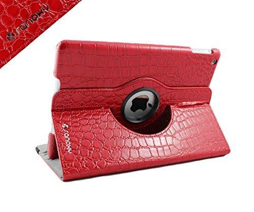 ELEGANI iPad Air Case - 360 Degree Rotating Stand PU Leather