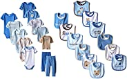 Luvable Friends Baby-Boys Layette Gift Cube