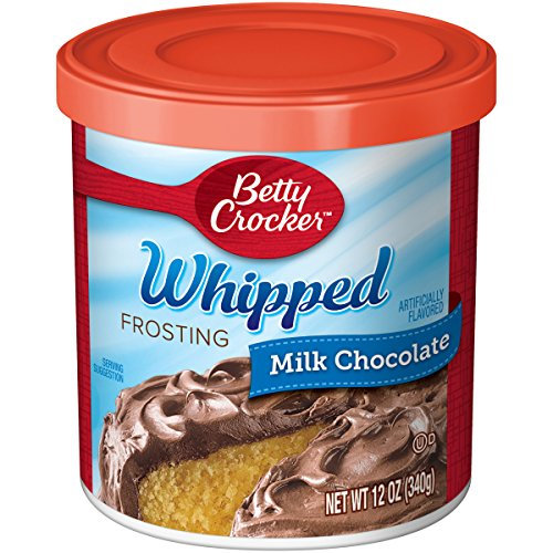 Crocker Frosting Chocolate Betty (Betty Crocker Whipped Frosting, Milk Chocolate, 12 oz Canister)