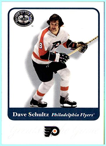 2001-02 Fleer Greats of the Game #45 Dave Schultz PHILADELPHIA - Flyers Schultz Philadelphia Dave