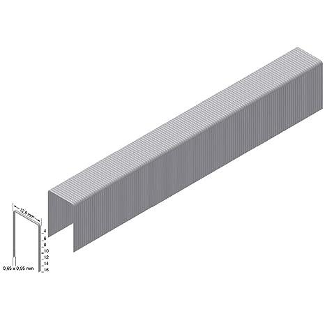 Prebena Heftklammer Type A mm : 4 Abmessung