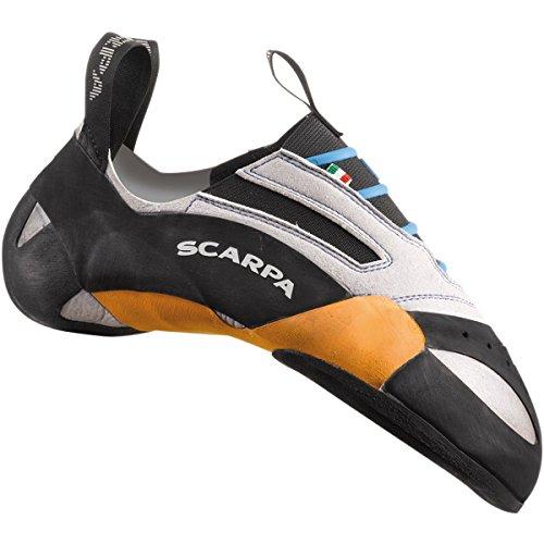 Scarpa Men's Stix Climbing Shoe,Silver,42 EU/9 M US by Scarpa Mens