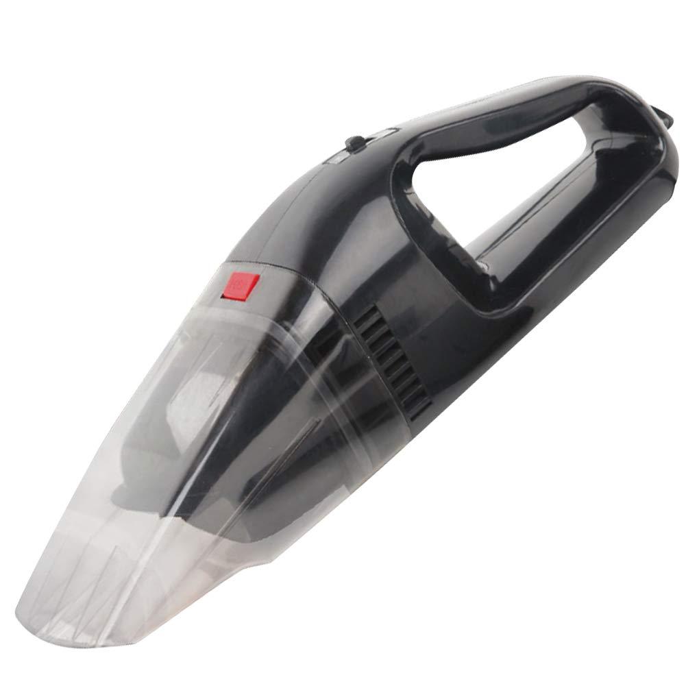 BAKAJI Aspirapolvere Portatile per Auto 12V Dustbuster Tecnologia Ciclonica Senza Sacchetto Potenza 60 W con Beccucci e Cavo Alimentazione Accendisigari