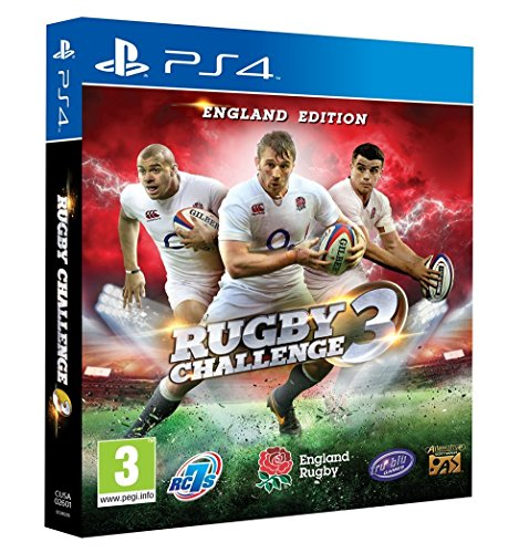 Rugby Challenge 3: England Edition [PlayStation 4, PS4] by Tru Blu