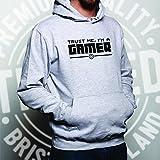 Gaming Unisex Hoodie Trust Me, I'm a Gamer Slogan