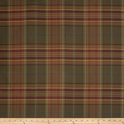 Fabricut Equus Gabardine Plaid Mulberry for sale  Delivered anywhere in USA