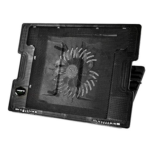 Tacens Anima ANBC2, Base Refrigeración Portátiles 17'', Ventilador 14cm, Negro