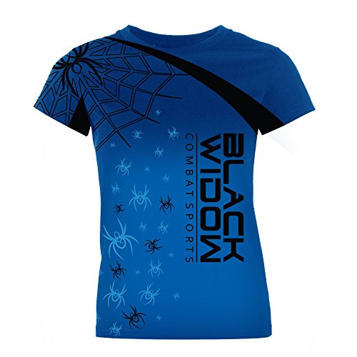 - BLACK WIDOW COMBAT SPORTS Women's Spider Takeover Rash Guard (Small)