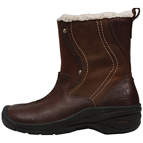 Keen Womens Chester Boot Shoe, Potting Soil, US 7