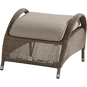 4Seasons Outdoor Sussex reposapiés (Incluye Cojín Poly Loom taupe 212394