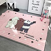Baby Play Mat Cotton Crawling Cushion, Kids Room Rug...